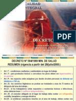 D.S. 594 Resumen Todos Los Articulos