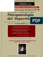 A98.PsicopatologiaDeportista