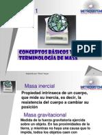 Fundamentos de Metrología de Masa tema 1