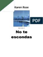 Rose Karen - No Te Escondas