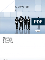 Drive Test Training WCDMA & GSM