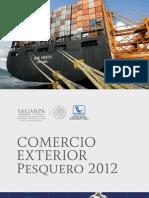 Boletín Comercio Exterior Pesquero 2012