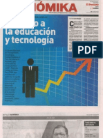 Entrevista Presidente Del Ceplan en Suplemento Economika Del Diario El Peruano 24.6.13