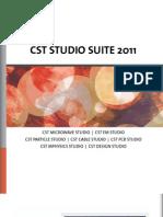 Cst Studio Suite 2011 Brochure