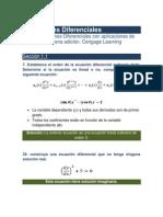 Ecuaciones Diferenciales Como Modelos Matematicos