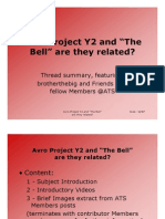 Avro Project Y2 and The Bell are they related?