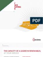 Acciona's Presentation