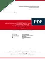 EL MODELO DIALOGICO DE LA PEDAGOGÍA- UN APORTE DESDE LAS EXPERIENCIAS DE COMUNIDADES DE APRENDIZAJE