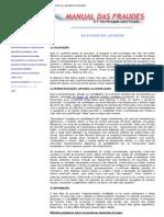 Manual Das Fraudes - Etapas Da Lavagem de Dinheiro
