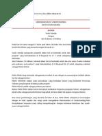 Contoh Memorandum of Understanding