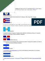 Banderas de Amarica Latina