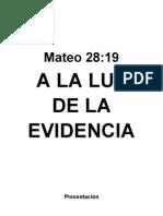 31363509 a La Luz de La Evidencia Rev Alvaro Torres