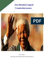 Nelson Mandela's Legend