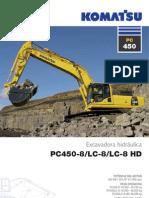 Excavadora PC450-8 Komatsu