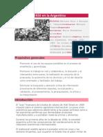 SECUENCIA DIDACTICA La Crisis de 1930 en La Argentina