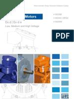 WEG Three Phase Flameproof Motors w22x and Bfgc4 Series Technical European Market 125.71 Brochure English (2)