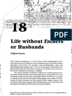 Life Without Fathers or Husbands by Clifford Geertz