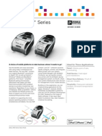 Zebra iMZ Series Mobile Printer Brochure