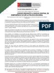MINISTRO DEL INTERIOR PRESENTÓ LA NUEVA CENTRAL DE EMERGENCIA 105 DE LA POLICÍA NACIONAL