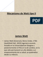 Mecanismo de Watt Tipo II