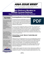 ANA Nurse Practitioner New Delivery Models