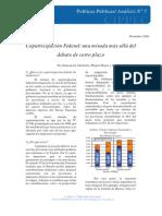 7 DPP A Fiscal, Coparticipación federal, Abuefalia, Braun y Diaz Frers, 2004