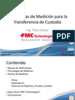 Presentacion 2 1430 1500 2012 Foro Lineamientos Medicion FMC Technologies