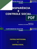 8.3-CGU- Transparência e Controle Social