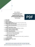 TAG Agenda | May 2012