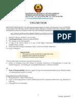 Visa Application Form April 2013 MHC