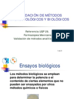12 Modulo VALIDACION de Metodos Microbiologicos