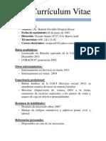 Curriculum Vitae Lic. Oropeza
