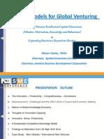 Mental Models for Global Venturing