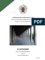 Ejercicio Principales Corrientes Filosoficas EL ESTOICISMO