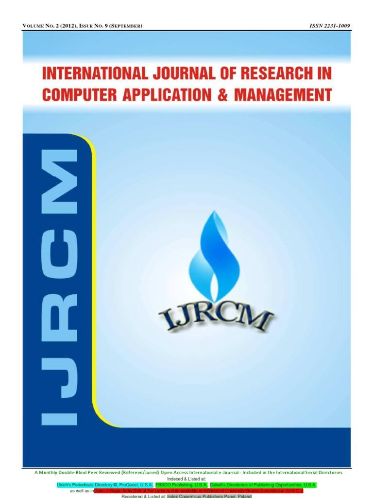 Ijrcm 2 cvol 2 issue 9 social entrepreneurship entrepreneurship fandeluxe Choice Image