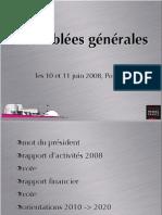 Rapport Activites Emf 2008