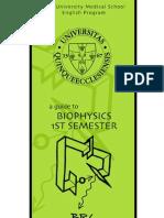 BRY's Biophysics 1st Semester