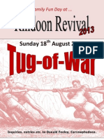 Tug of War Competition poster.