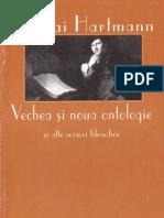 Nicolai Hartmann-Vechea Si Noua Ontologie-Paideia (1997)