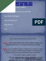 Reglas Para Elaborar Red Cpm