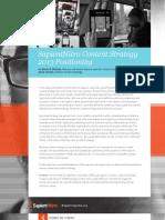 SapientNitro Content Strategy 2013 Positioning