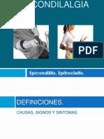 EPICONDILALGIAS