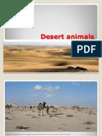 Desert Animals by Ridha Hussain