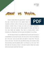 Tomsawyer Book vs Movie