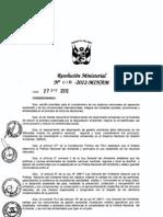 Directiva de Gestion Ambiental