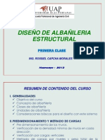 Clase-01- UAP ALBAÑILERIA