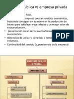 EXPOSICION Empresa Publica vs Empresa Privada