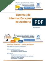 8- Sistemas Informacion - Auditoria. Marivi Martinez