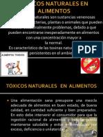 Toxicos en Alimentos