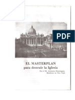 Master Plan Destruccion de La Iglesia Catolica
